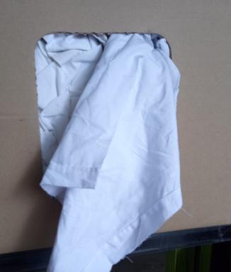Chiffon blanc ou couleurs, 100% coton en carton de 10kg.